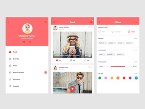 Small Ecommerce UI Kit
