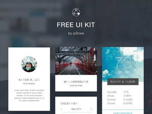 Bright And Clean Aesthetic UI Kit