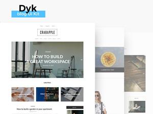 Dyk Blog UI Kit
