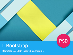Bootstrap – UI Kit Inspired by Android