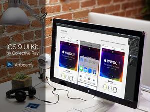iOS 9 UI Kit – Artboards
