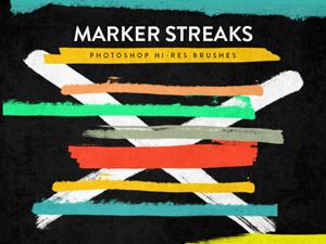Marker Streaks Brushes