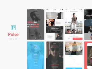 Pulse iOS UI Kit Sample