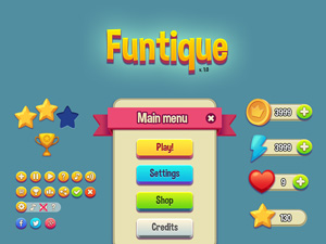 Funtique Game UI Kit