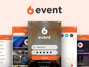Event App UI Kit