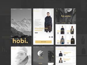 Mobile Fashion & Ecommerce UI Kit