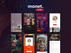 Monet iOS Art UI Kit