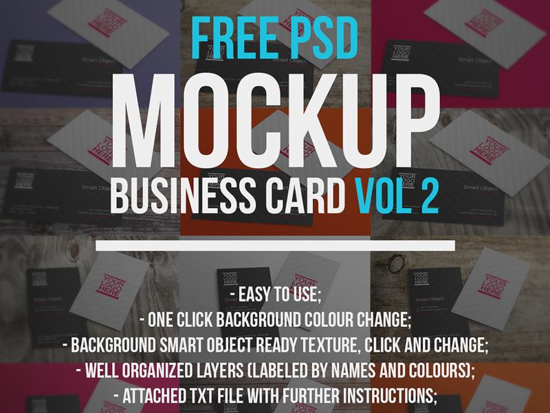 Business card mockups vol 2 freebie download photoshop resource business card mockups vol 2 reheart Gallery
