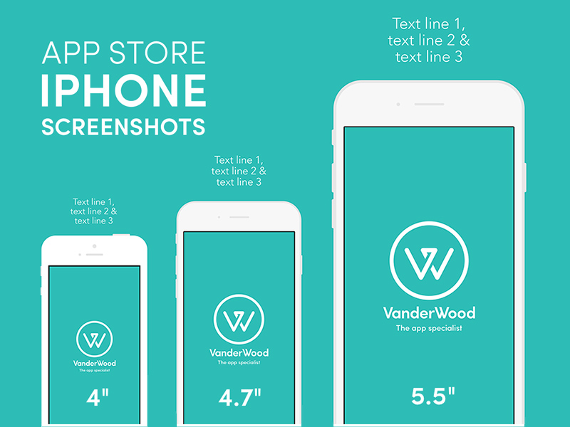 iphone app store screenshot mockup free psd template psd repo