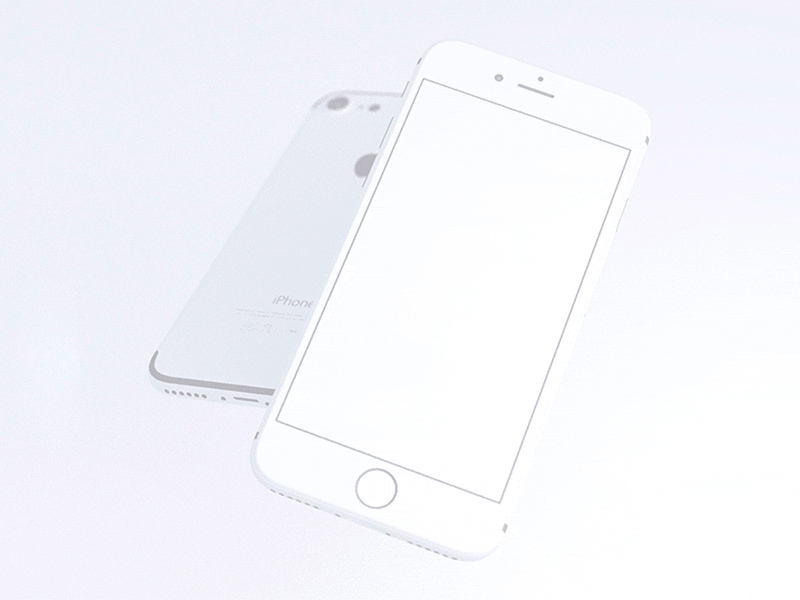 Free Clay-look iPhone 7 Mockups download