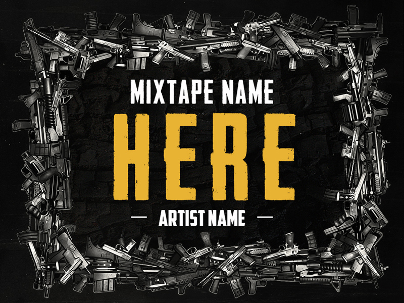 free mixtape covers templates - hip hop mixtape cover v6 freebie download photoshop