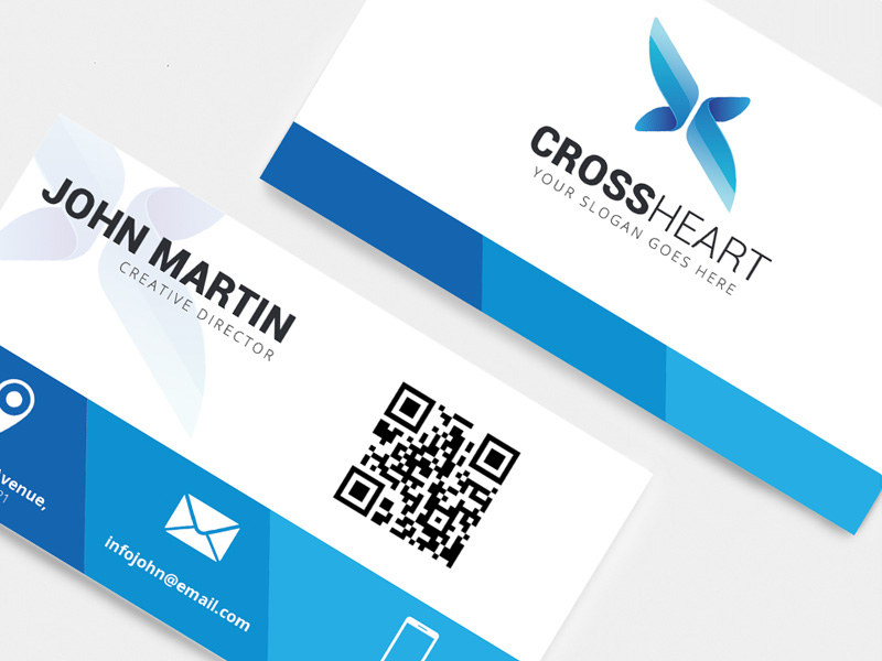 Blue business cards freebie download photoshop resource psd repo blue business cards colourmoves