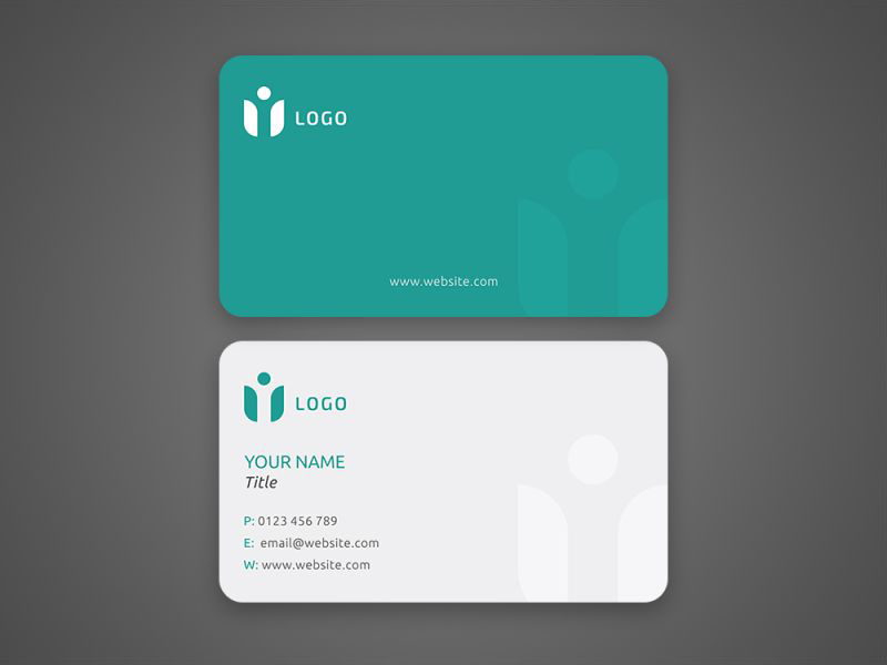 Business card mockup example freebie download photoshop resource business card mockup example reheart Images