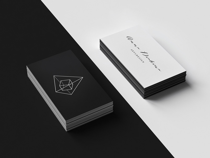 Letterpress Business Cards Mockup Freebie  Download Photoshop