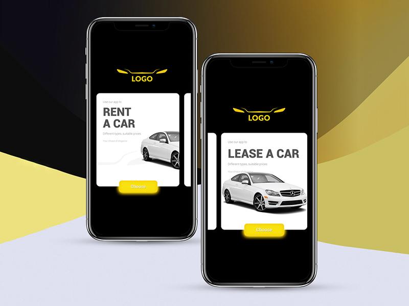 Car Rental App Design Free Psd Template Psd Repo