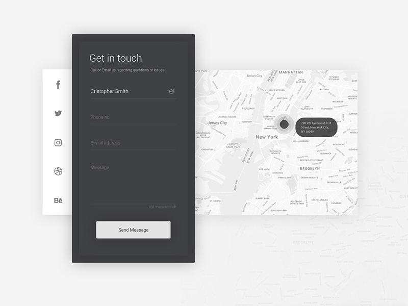 Free Contact Form Concept download