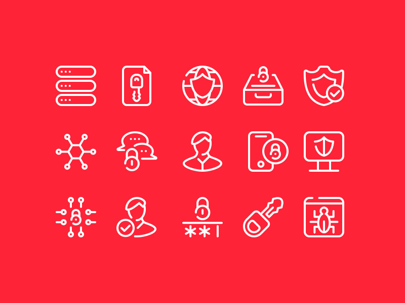 Cyber Security Icons Vol.1