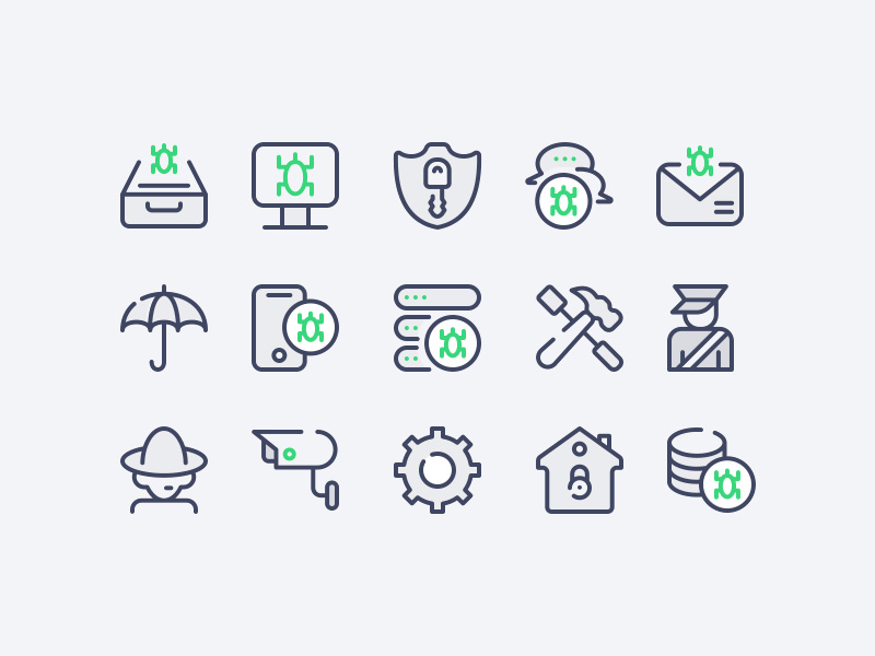 Cyber Security Icons Vol.2