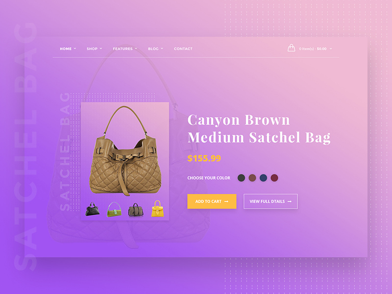 Free E-Commerce Product Card Concept download