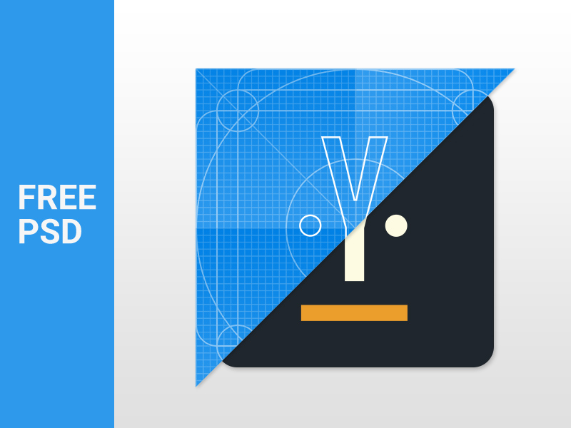 Material Design Icon Template Freebie - Download Photoshop Resource ...