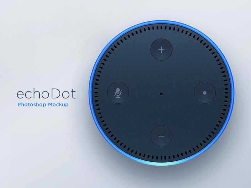 Free Echo Dot Illustration Design download