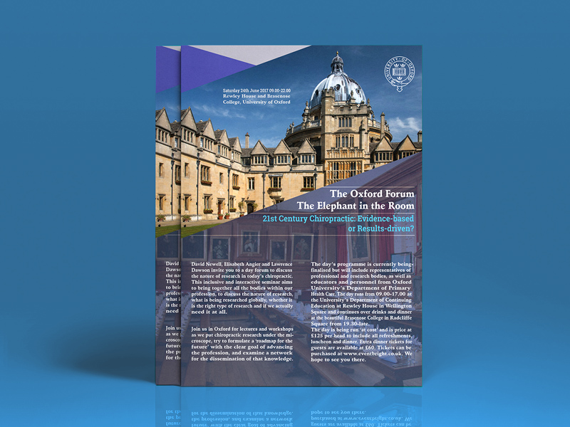 University Brochure Template | University Of Oxford Flyer Template Design Freebie Download