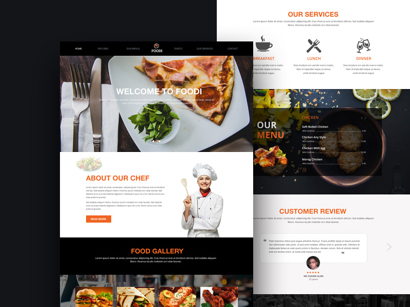 Foodi restaurant website template freebie download photoshop foodi restaurant website template pronofoot35fo Choice Image