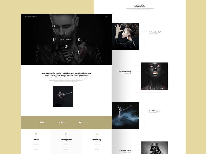 Free Agency Website Template download
