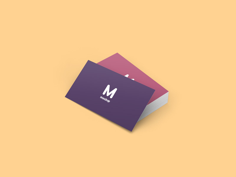 Business Cards Mockup Freebie - Download Photoshop Resource - PSD Repo