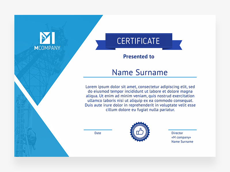 Certificate template freebie download photoshop resource psd repo certificate template yadclub Choice Image