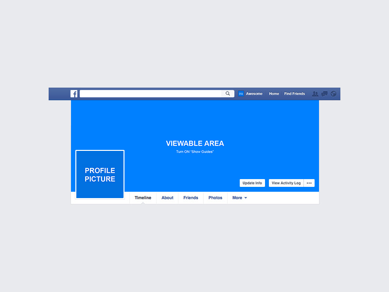 Facebook Cover Mockup Freebie - Download Photoshop Resource - PSD Repo