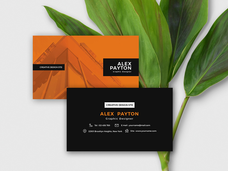 Business card template freebie download photoshop resource psd repo business card template reheart Images