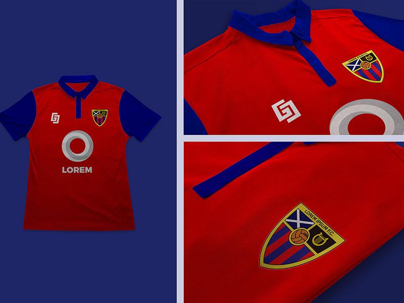 Football Soccer Jersey Logo Mockup Free Psd Template Psd Repo