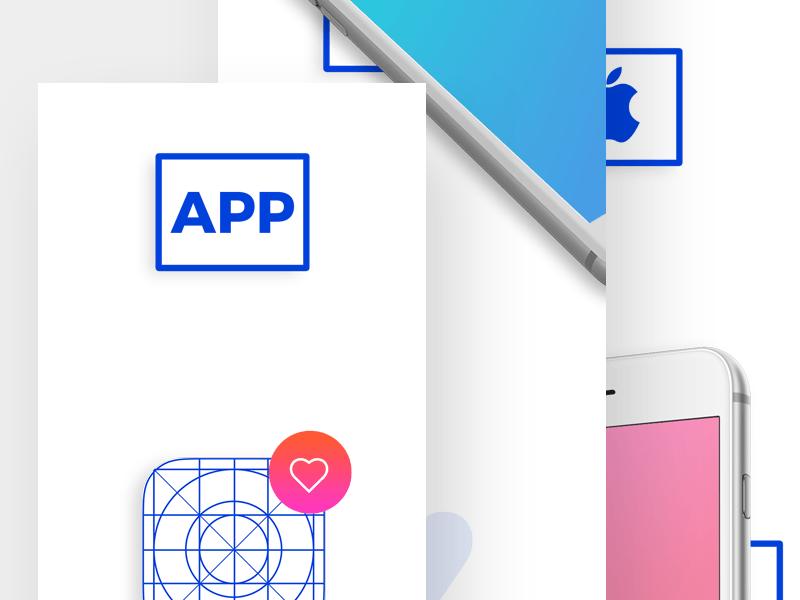 iphone app showcase mockup kit freebie download photoshop resource