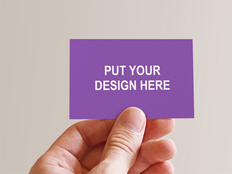 Holding Business Card In Hand Freebie - Download Photoshop Resource ...