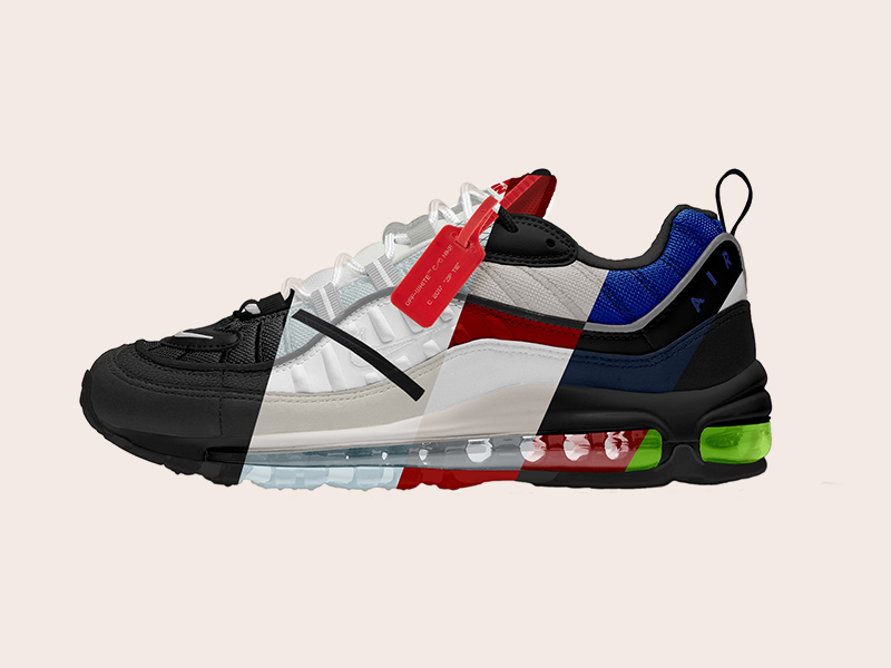 nike air max photoshop template free