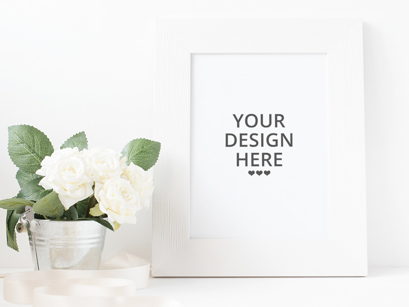 picture frame mockup freebie download photoshop resource psd repo