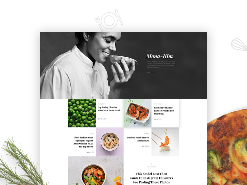 Bologna WordPress Theme Freebie - Download Photoshop Resource - PSD Repo