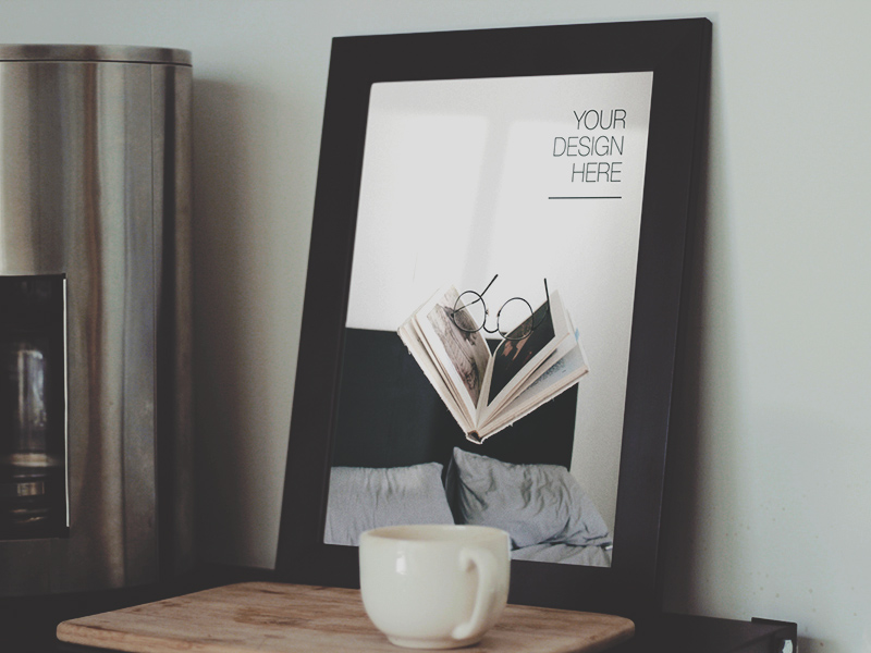 Free Frame Mockup Freebie - Download Photoshop Resource - PSD Repo