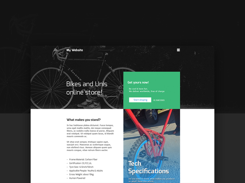 Free Online Store For Bikes download