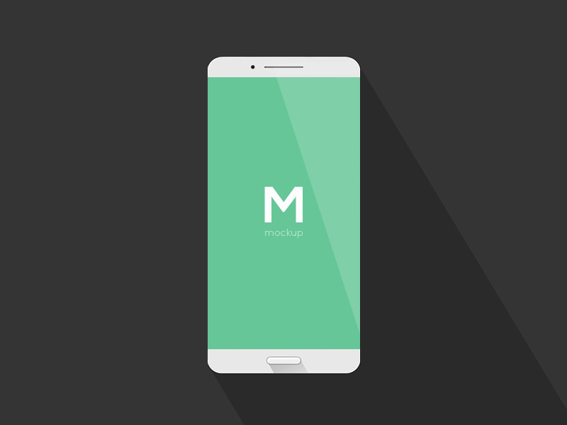 Simple Phone Mockup Freebie Download Photoshop Resource