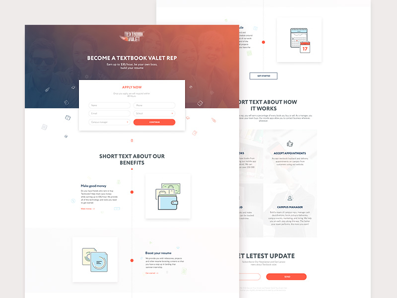 textbook service template free psd template psd repo