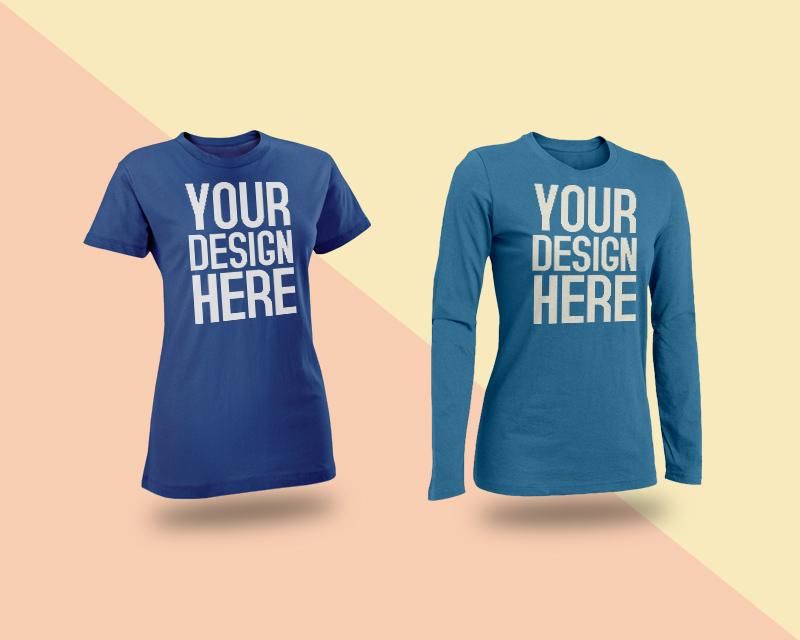 Female T Shirt Mockups PSD Free PSD Template PSD Repo