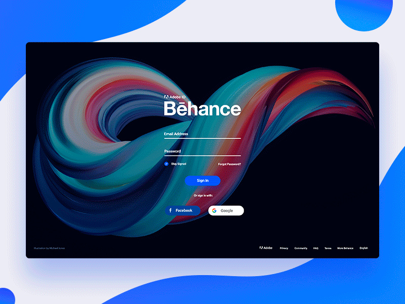Free Behance App Redesign download