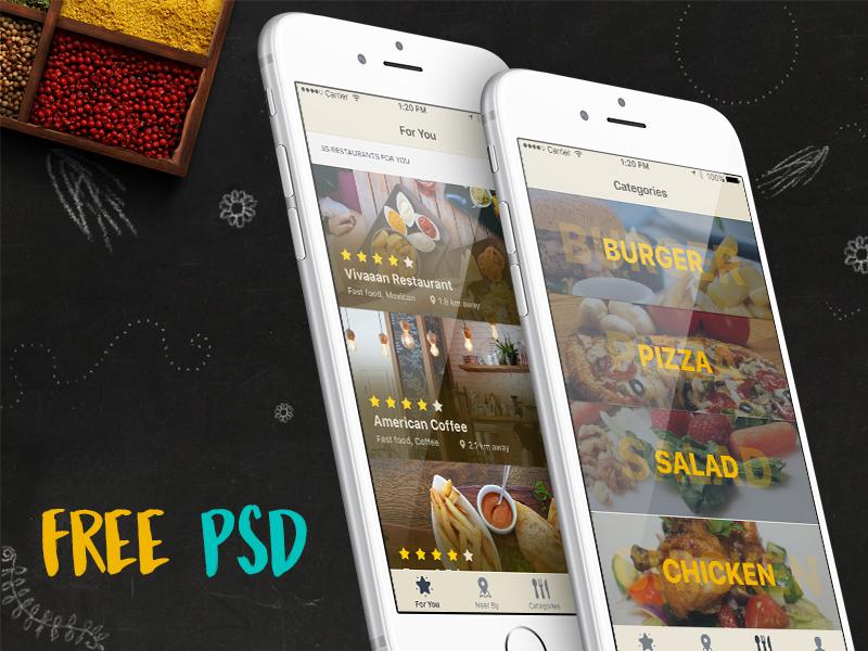 Free iOS Restaurant Finder App download
