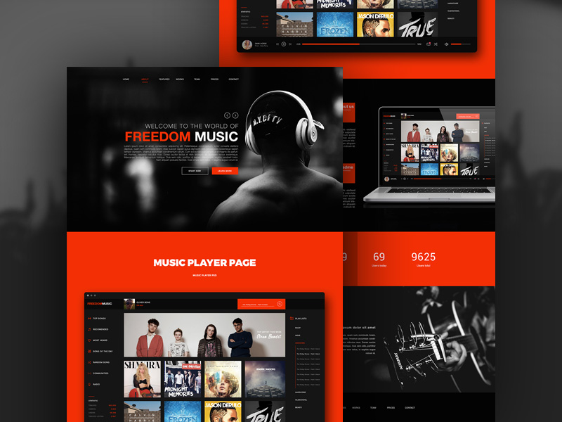 Freedom Music Template