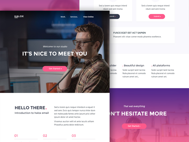 Halox html email template freebie download photoshop resource halox html email template maxwellsz
