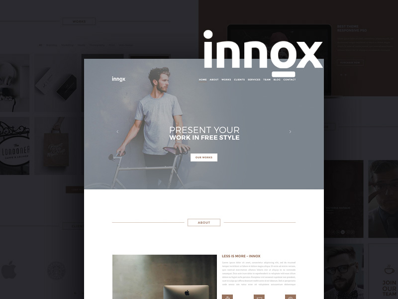 Innox Creative Design Office Template