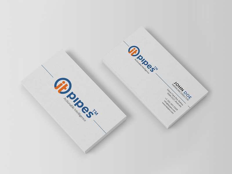 Free IT Pipes Business Card Design download