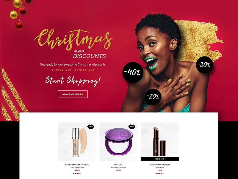 Makeup Website Template